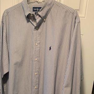 Ralph Lauren Yarmouth 100% cotton 17-34 shirt